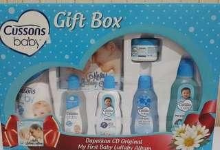 Cussons baby gift