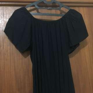 black sabrina jumpsuit