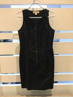 Michael kors fitted black dress