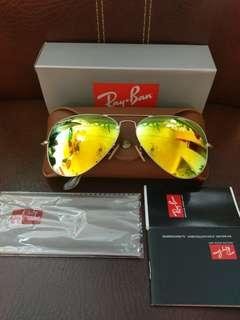 discount for selling Ray Ban sunglasses rb3026 62mm size Large size brand new full packages original made in Italy
