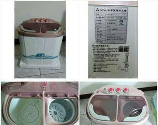 【ZANWA晶華】 雙槽洗滌洗衣機