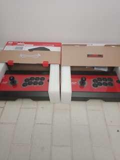 Hayabusa arcade stick for nintendo switch (x2)