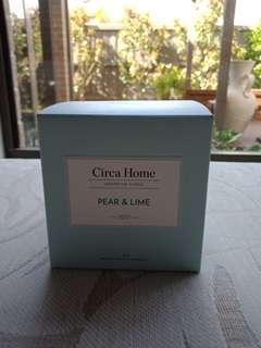Circa Home Candle - Pear and Lime