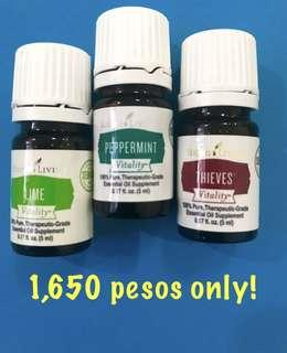 YoungLiving PEPPERMINT+THIEVES+LIME