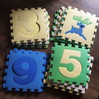 Rustans Puzzle Mats 36 pcs