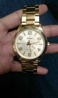 Casio Gold Plated