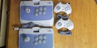 Sega Dreamcast Ascii Joystick & Joypad Set(日版)