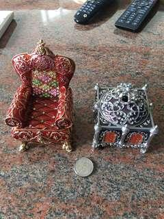 Jewelry box metal