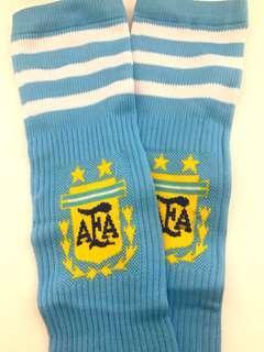 Argentina football soccer socks