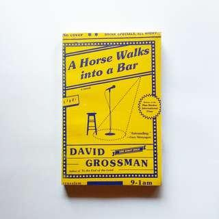 A Horse Walks into a Bar - David Grossman.