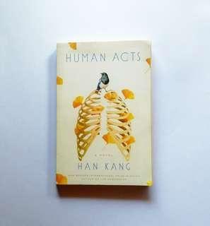 Human Acts - Han Kang.