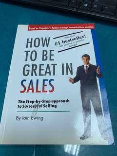 How to be Great in Sales