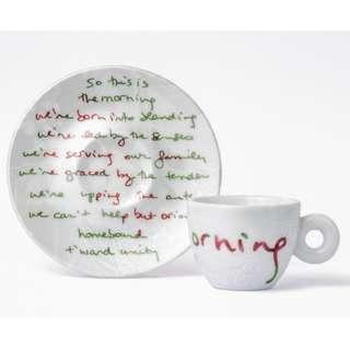 BN Illy ALANIS MORISSETTE Espresso Cup&Saucer 2's