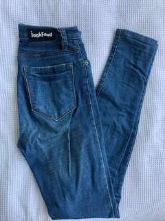 Junkfood skinny jeans
