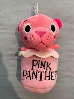 Pink Panther Plush Pouch