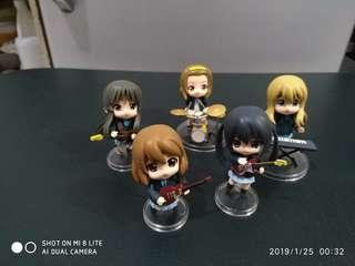 K-ON! HTT Chibi Set