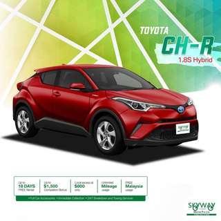 Used Toyota CHR Hybrid 1.8 S