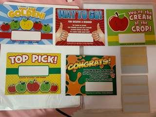 Reward Scratch Card for students