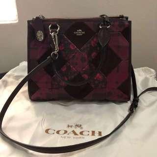 Decluttering sale! Coach Handbag, (transform to 2 designs), rarely used.
