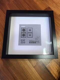 "Ikea Ribba 9"" Photo Frame"