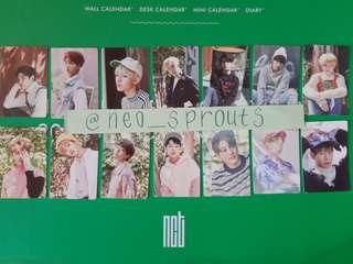 [WTS] NCT SEASON'S GREETING 2017 Photocards / Mini Calendars