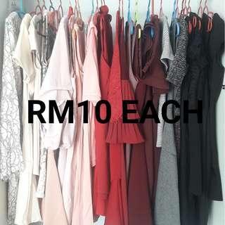 RM10 Dresses