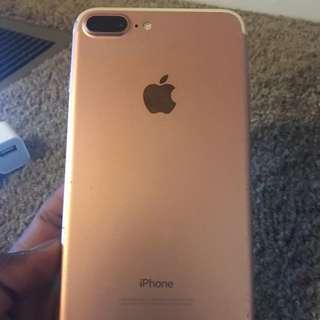 Rose Gold Iphone 7+
