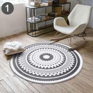 Karpet bulat ukuran 60 cm