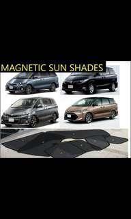 Toyota estima rear tailgate sun shade 2006-2019
