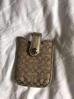 Coach Mobile Handphone pouch