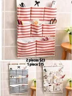 Living in a multi-layer bag dormitory simple socks bag wardrobe three-dimensional underwear hooks kindergarten kitchen wall
