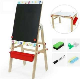 2 in 1 convertible easel