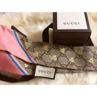 甜甜價💯正品Gucci真絲領結