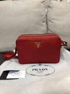 39023f7b0269 prada leather bag long strap | Luxury | Carousell Singapore