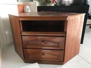Corner unit cabinet