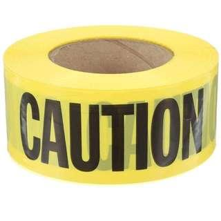 Caution tape 3 inch x 500 meters