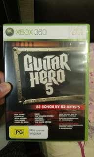 Xbox360 結他Hero