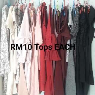 RM10 Tops