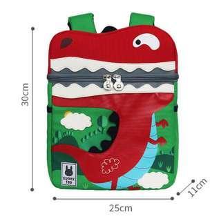 🚚 Kid Backpack Animal Design - Dinosaur Anti-lost Backpack for Children Favourite Bag