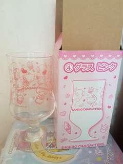 sanrio 玻璃杯