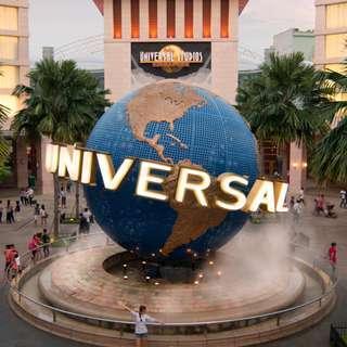 Universal Studios Singapore (USS) [Open Ticket]