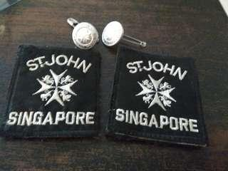 St John Button and Patch