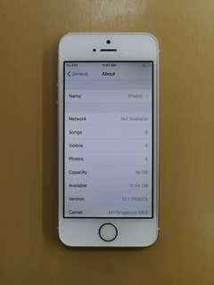 Only $125 IPhone 5s 16gb Gold Preown