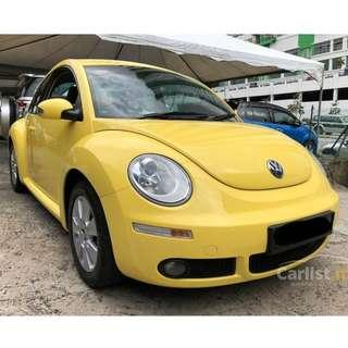 2010 Volkswagen New Beetle 1.6 (A) One Owner Low Mileage-57K only Full Volkswagen Service Record