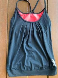 Gym clothes tops size 8$15 each