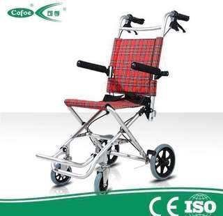 Foldable travel wheelchair (7kg)/ normal wheelchairs are available too