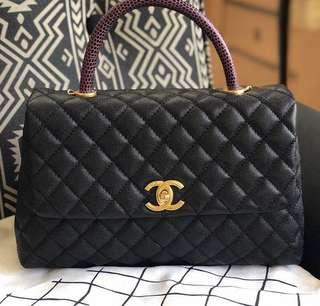 Coco Chanel with Top Handle