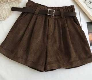 Instock Brown Shorts