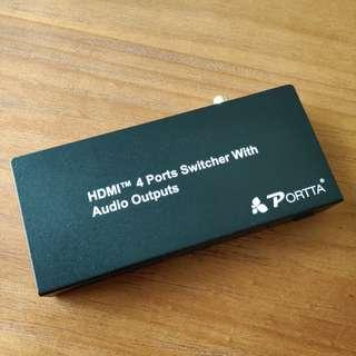 Portta Video and Audio Splitter for HDMI