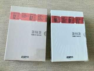 ESPN 30 for 30 gift set collection - S1 and S2
